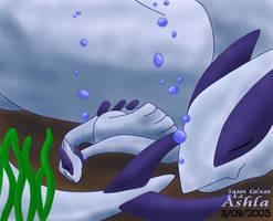 Lugia Under da Sea by Ashla