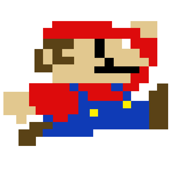 Super Mario Pixel Art By Sullyvancraft On Deviantart