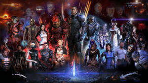 Mass Effect Wallpaper by SullyVanCraft