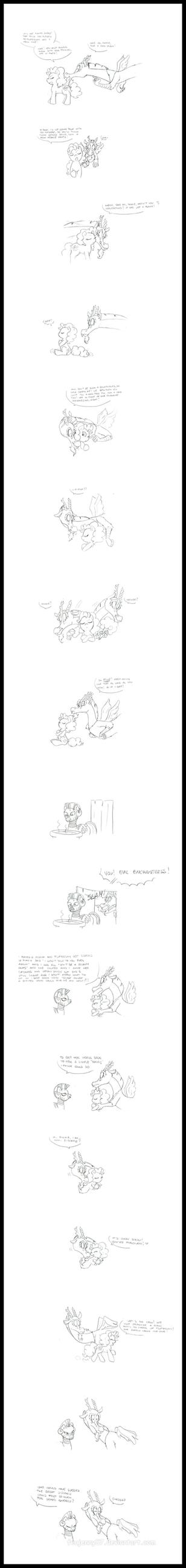 Pinkie's Pout - Comic by FEuJenny07