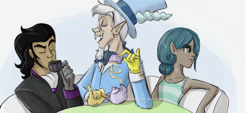 villain_tea_party_humanized_by_feujenny0