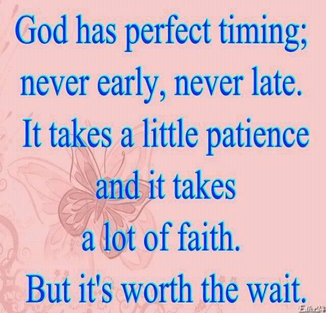 God Has Perfect Timing By RainbowCat312 On DeviantArt