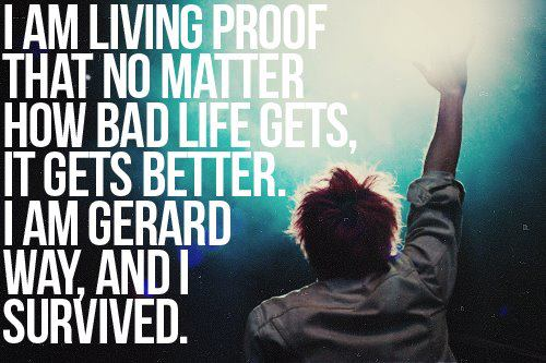 One Of My Favourite Quotes By The MCR Fan Club