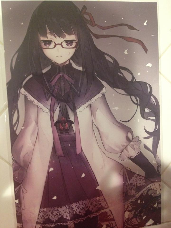 Homura print 2 by StrongestInUniverse