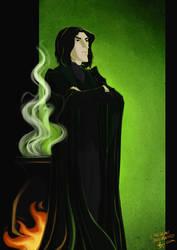 Severus Snape by emedeme