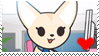 Fenneko Stamp by Mai-FanDraw