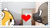 Haida x Retsuko stamp 2 by Mai-FanDraw