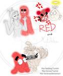 Red and Matilda by Mai-FanDraw