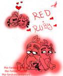 Red x Ruby by Mai-FanDraw