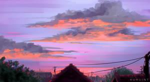 dusk admirer by Kuruint