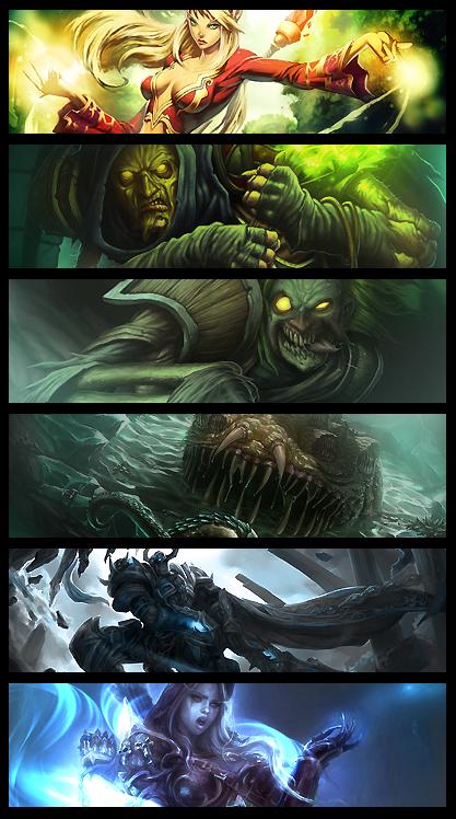 World of Warcraft Artwork Wall by nudl3r on DeviantArt