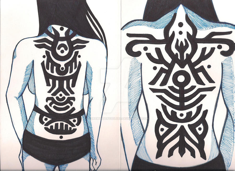Inscape 2012 symbols and tattoos by puremysterysolved on for Shadow of the colossus tattoo