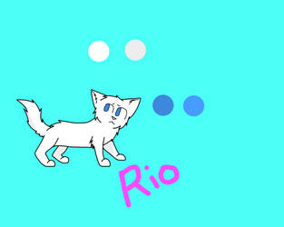 The Animals of Red Canyon Ranch: Rio Ref by Shadow--Blaze