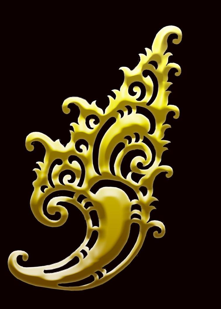 Balinese Filigree by DeKARYA