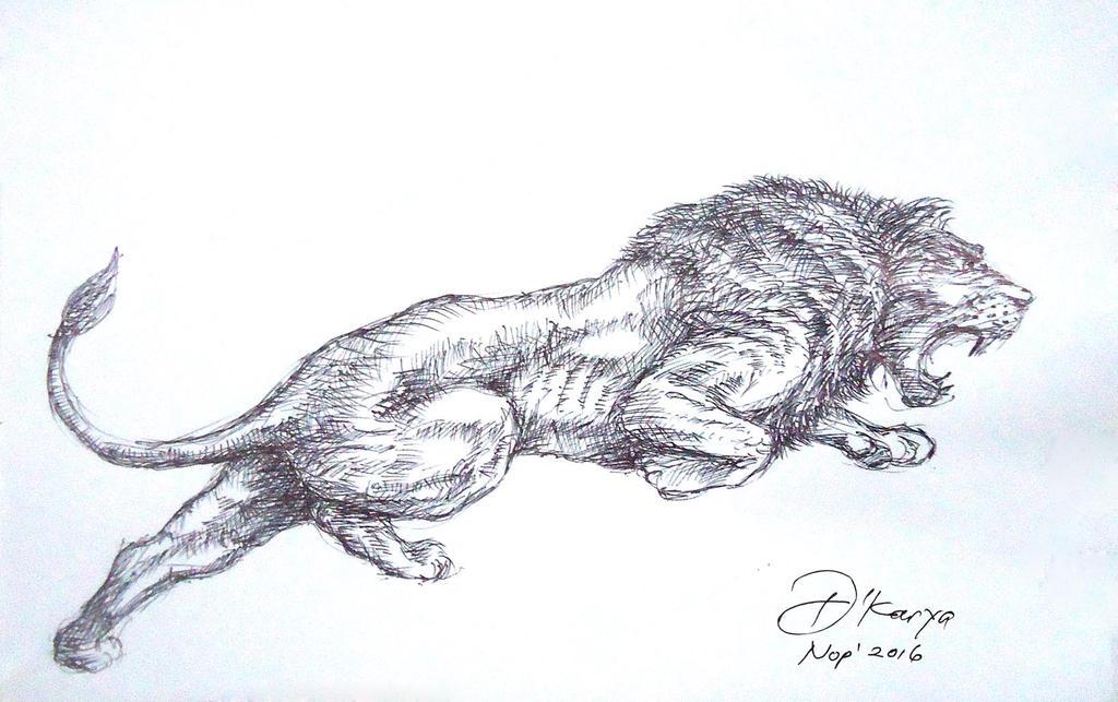 ANGRY LION by DeKARYA on DeviantArt