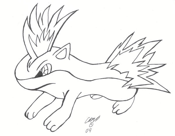quilava pokemon coloring pages - photo#6