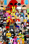 My Art Characters Group Photo