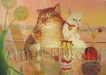 ' The cat's romanticism '