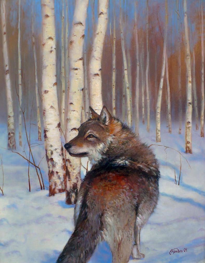 Wolf by Nikolaj-Arndt