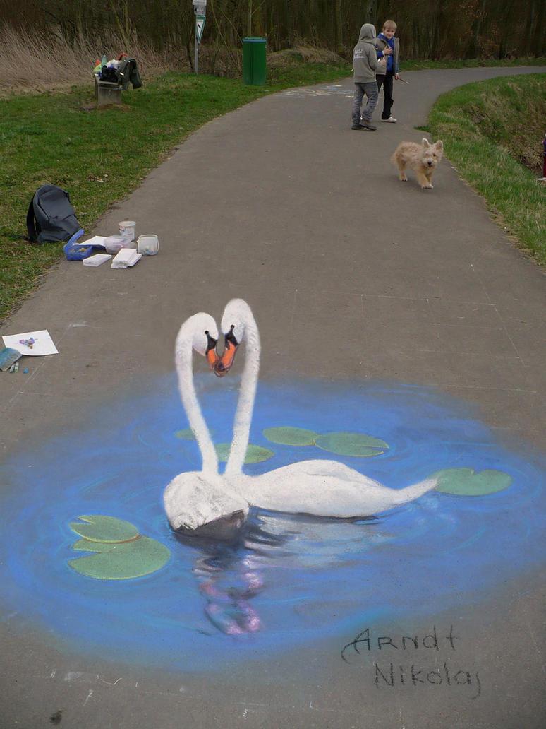 'Swan' by Nikolaj-Arndt