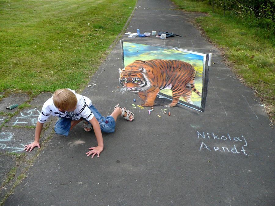 Tiger by Nikolaj-Arndt