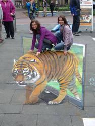 Tiger, Geldern 2010 by Nikolaj-Arndt