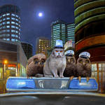 Night Patrol by Nikolaj-Arndt