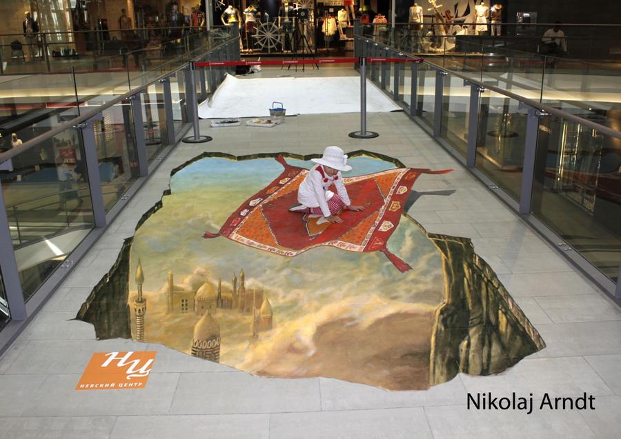 Travelling in a fairy tale. by Nikolaj-Arndt