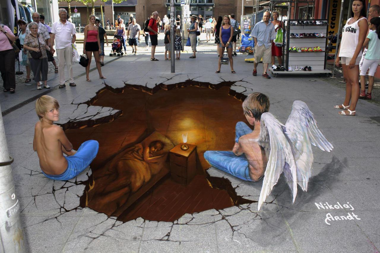 Guardian Angel by Nikolaj-Arndt