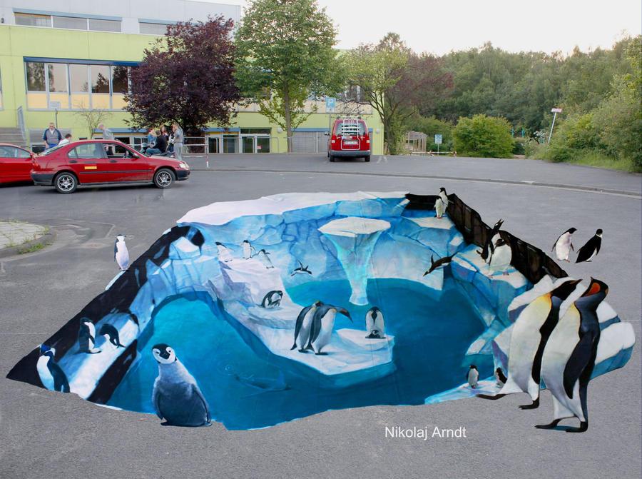 Penguins by Nikolaj-Arndt