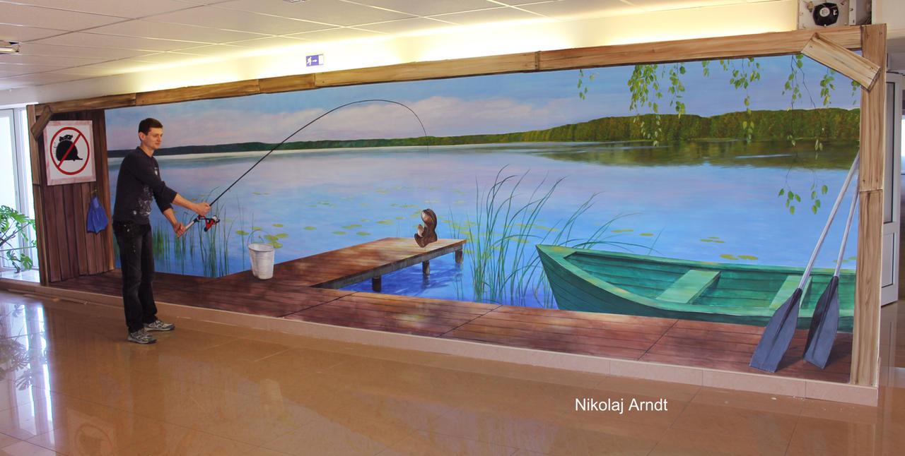 fishing by Nikolaj-Arndt