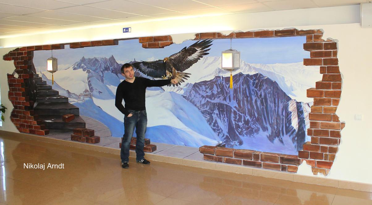 golden eagle by Nikolaj-Arndt