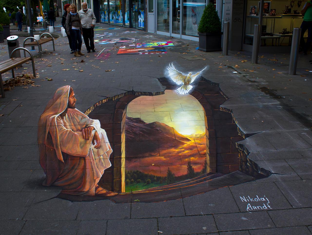 The light of hope. by Nikolaj-Arndt
