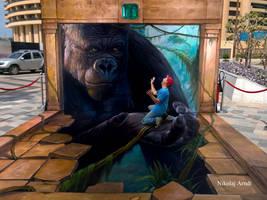 King Kong by Nikolaj-Arndt