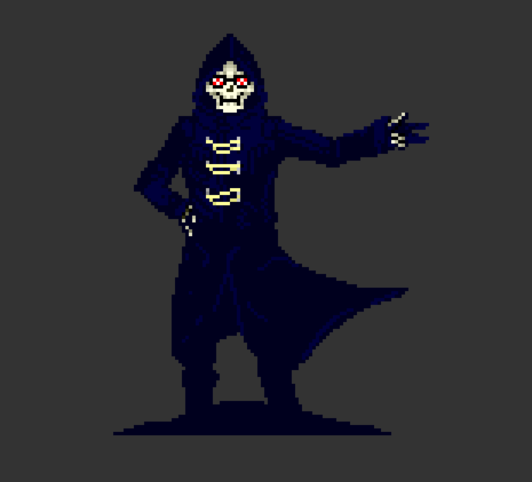 'Yo Senpai!' Uncle Death - Let It Die by Biolix98