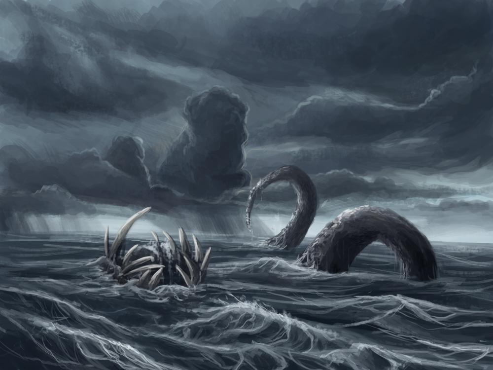Storm kraken by Ionnas on DeviantArt
