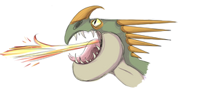 Malachite Headhot - large