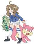 Trainer Tea would like to battle!