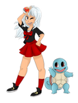 Trainer Gina would like to battle!