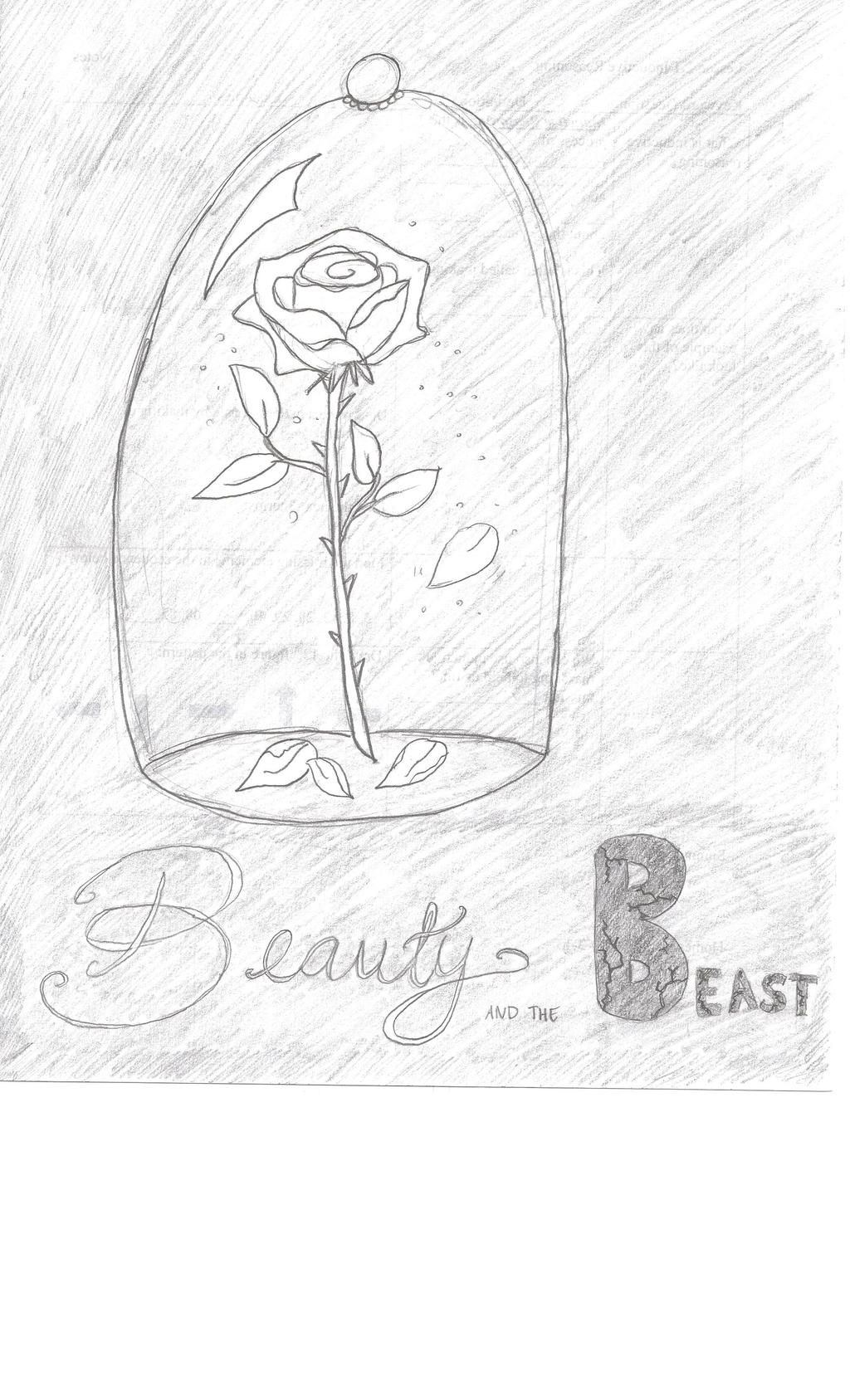 Enchanted Rose Drawing: Enchanted Rose Drawing By Julietcapulet432 On DeviantART