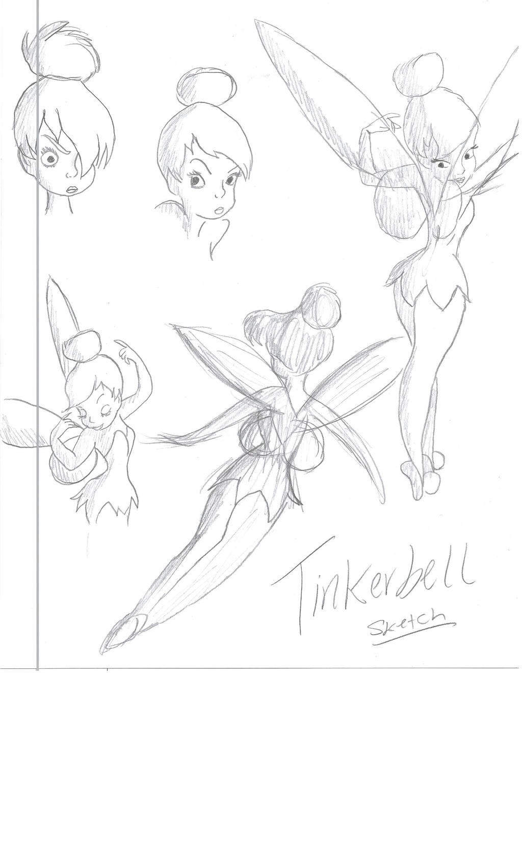 Uncategorized Tinkerbell Sketch Drawing tinkerbell sketch drawing 2 by julietcapulet432 on deviantart julietcapulet432