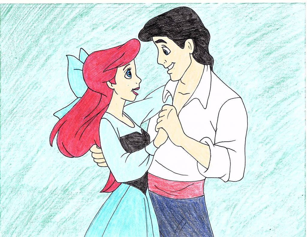 The Little Mermaid's Love Drawing by julietcapulet432