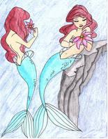 Ariel Concept Drawing by julietcapulet432