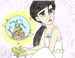 Melody Atlantica Drawing by julietcapulet432