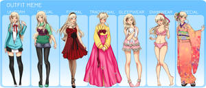 MM: ChaeRin full Outfit meme by Umesshi