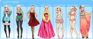 MM: ChaeRin full Outfit meme