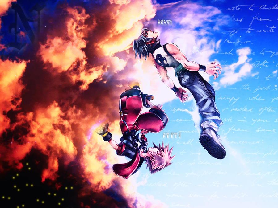 Kingdom Hearts 3d Wallpaper By Xxnaxikuxx On Deviantart