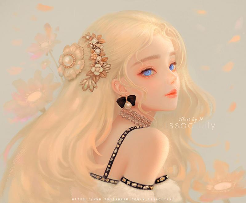 Issac lily._soft lady.