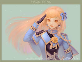 Commission illust. by Nissaclily