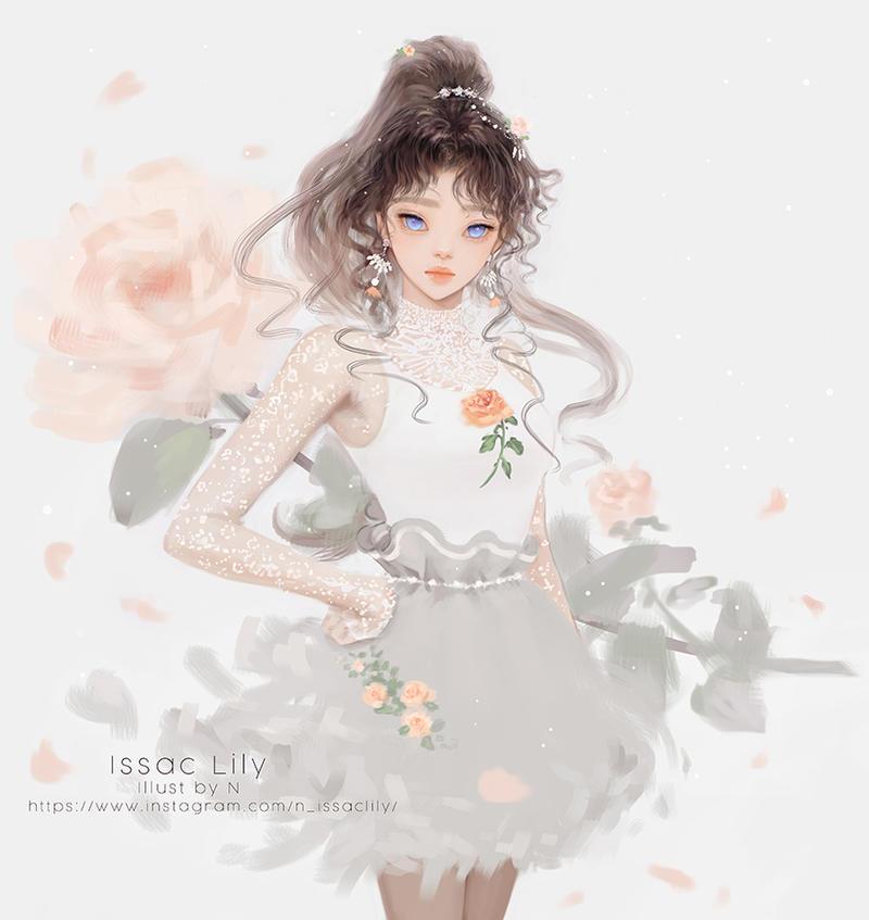 Lily_pastel spring.